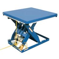 Vestil EHLT-6-82 Electric Hydraulic Scissor Lift Table-1