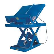 Vestil EHLTTS-3654-4-48 Lift & Tilt Platform Scissor Table-1