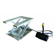 Vestil EHU-12-SS Low Profile Stainless Steel Elec U Lift Table-1