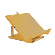 Vestil EM1-200-4848-2-YEL Yellow Efficiency Master Tilt Table-1