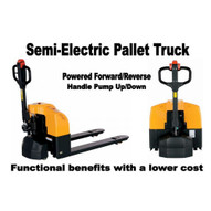 Vestil EPT-S-2748-33 Semi-electric Pallet Truck 3.3k-1