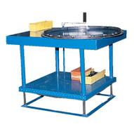 Vestil ERG-3660-M Hand Crank Mechanical Adjust Work Table-1