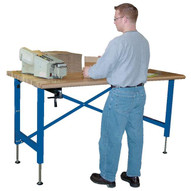 Vestil EWB-6030 Manual Adjustable Ergonomic Work Bench-2