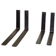 Vestil F4-1.50-48 Forged Steel Forks-1