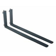 Vestil F4-1.75-60-CPL Forged Stl Forks Wcarriage Pins 5k 60in-1