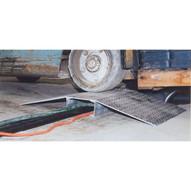 Vestil FHCR-48-40-8-4H Fabricated Aluminum Hose & Cable Bridge-1