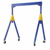 Vestil FHSN-2-10 Fixed Height Steel Gantry Crane 2k 10 Ft-2