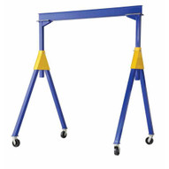 Vestil FHSN-6-20 Fixed Height Steel Gantry Crane 6k 20ft-1