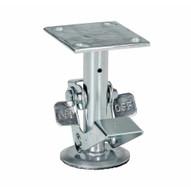 Vestil FL-LK-6EL Floor Lock Low Used With 6 In Caster-3