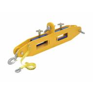 Vestil FLB-D-10 Forklift Lifting Beam 10k Capacity-3