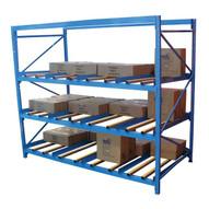 Vestil FLOW-3-5 Carton Flow Rack W Gravity Fed Rollers-3