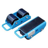 Vestil FMS-2.5 Machinery Skates - Fixed-1