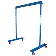 Vestil FPG-3 Steel Gantry Crane - Portable Work Area-1