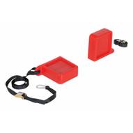 Vestil FPU-TK-45-RD Fork Tip Protector Thick Red-1