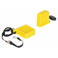 Vestil FPU-TK-45-YL Fork Tip Protector Thick Yellow-1
