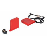 Vestil FPU-TN-45-RD Fork Tip Protector Thin Red-1