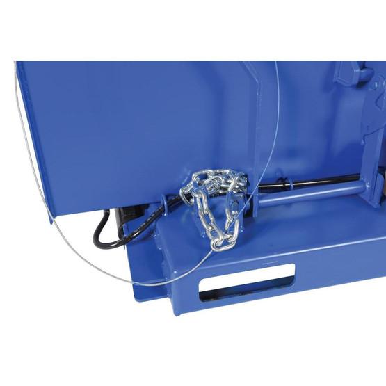Vestil H-DAMP-4 H-style Hopper Option- Flow Control-2