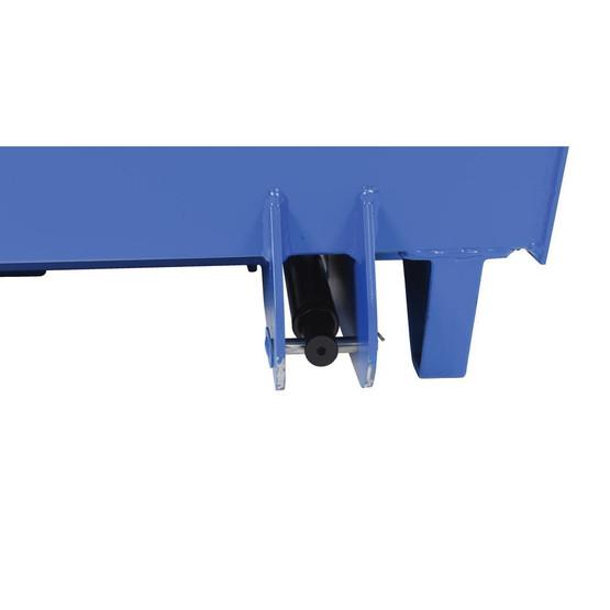 Vestil H-DAMP-4 H-style Hopper Option- Flow Control-3
