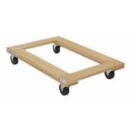 Vestil HDOF-2436-12-NM Hardwood Dolly Open Deck 1.2k Lb 24 X 36-1