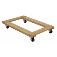 Vestil HDOF-2436-9-NM Hardwood Dolly Open Deck 0.9k Lb 24 X 36-3