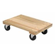 Vestil HDOS-1624-12-NM Hardwood Dolly Solid Deck 1.2k Lb 16 X 24-1