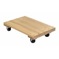 Vestil HDOS-1624-9-NM Hardwood Dolly-solid Deck 0.9k Lb 16 X 24-3