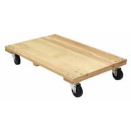 Vestil HDOS-2436-12-NM Hardwood Dolly-solid Deck 1.2k Lb 24 X 36-1