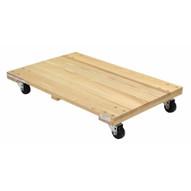 Vestil HDOS-2436-9-NM Hardwood Dolly-solid Deck 0.9k Lb 24 X 36-1