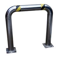 Vestil HPRO-SS-48-36-4 High Profile Rack Guard- Stainless Steel-1