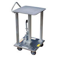 Vestil HT-05-1818A-PSS Hyd Post Table - Partial Stainless Steel-3
