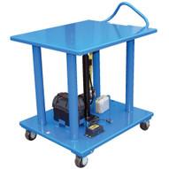 Vestil HT-20-2436-DC Hydraulic Post Table - Dc Power Steel-1