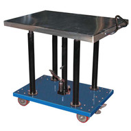 Vestil HT-20-2436A Hydraulic Post Table - Steel-1