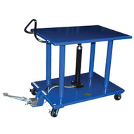 Vestil HT-40-2436-DC Dc Powered Steel Hydraulic Post Table-1