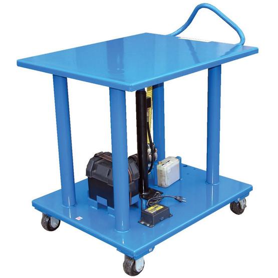 Vestil HT-60-2436-DC Dc Powered Steel Hydraulic Post Table-1