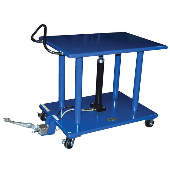 Vestil HT-60-3248 Hydraulic Post Table - Steel-1