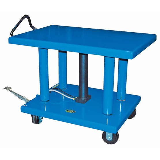 Vestil HT-60-4848 Hydraulic Post Table 6k Lb 48 X 48-1