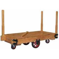 Vestil HWPC-2448 Wood Platform Tilting Truck 48 X 24-1