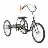 Vestil IBIKE-3-HH-BL Industrial Bicycle - Heavy Duty-1