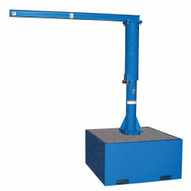 Vestil JIB-CB-18-BC Addl Steel Base 18 In Wconcrete-1
