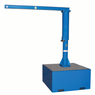 Vestil JIB-CB-18-B Portable Jib Crane Base - With Concrete-1