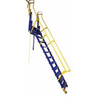 Vestil LAD-FM-120 Folding Mezzanine Ladder 120 In-3