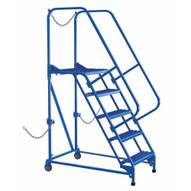 Vestil LAD-STAL-5-G Semi-trailer Access Ladder 5-step 350#-2