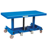 Vestil LDLT-30120 Ergonomic Long Deck Cart-3