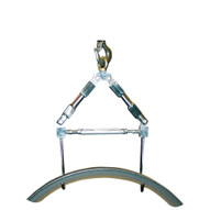 Vestil LMEC-DH Hoist Attachment- Mechanical Double Hook-1