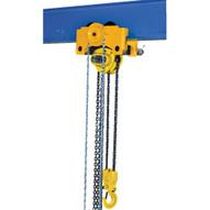 Vestil LOW-6P Chain Hoist Trolley- Low Headroom - Push-1
