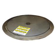 Vestil LP-4000T-SS Stainless Steel Thin Spin Carousel-1