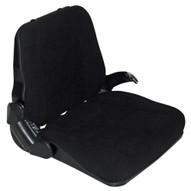 Vestil LTS-C Cloth Fork Truck Seat With Seat Belt-1