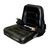 Vestil LTS-V Vinyl Fork Truck Seat With Seat Belt-1