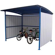Vestil MDS-96-BK Multi- Duty Shed - Bike Storage Shelter-2