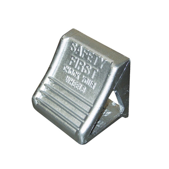 Vestil MS-15 Molded Cast Steel Wheel Chock-1